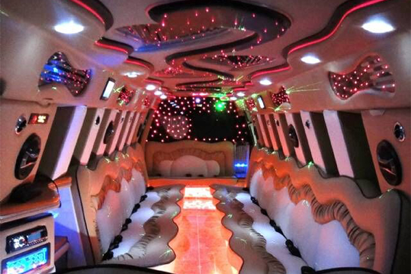 14 Person Escalade Limo Services Huntington Beach