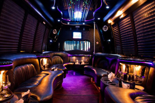 15 Person Party Bus Rental Huntington Beach