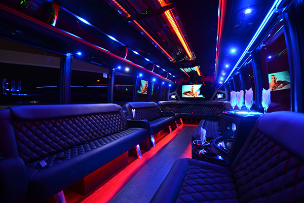 40 Person Party Bus Rental Huntington Beach