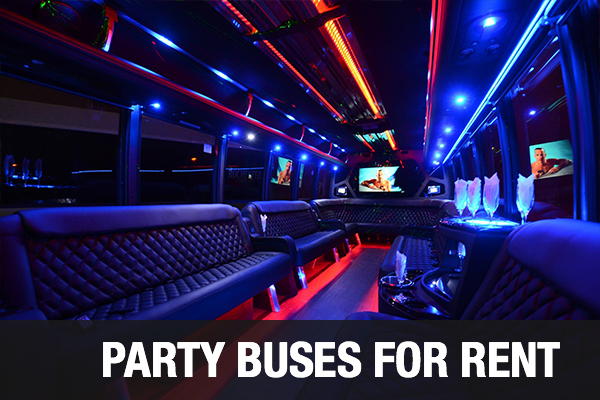 Party Buses For Rent Huntington Beach